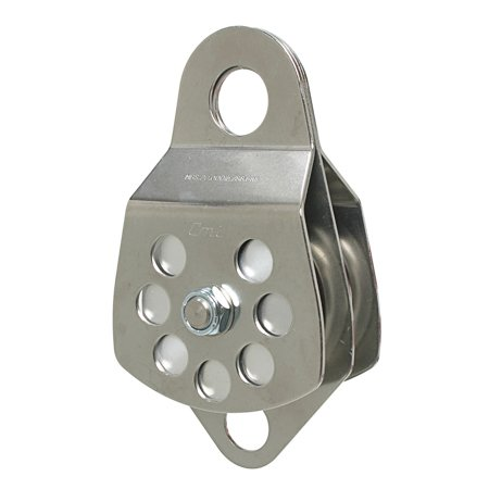 "CMI 3"" SS Double Block Pulley"