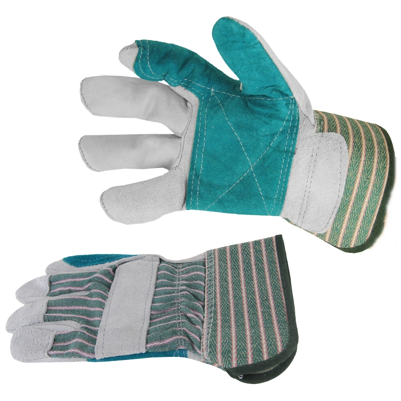 CLC Double Leather Palm Safety Cuff Gloves