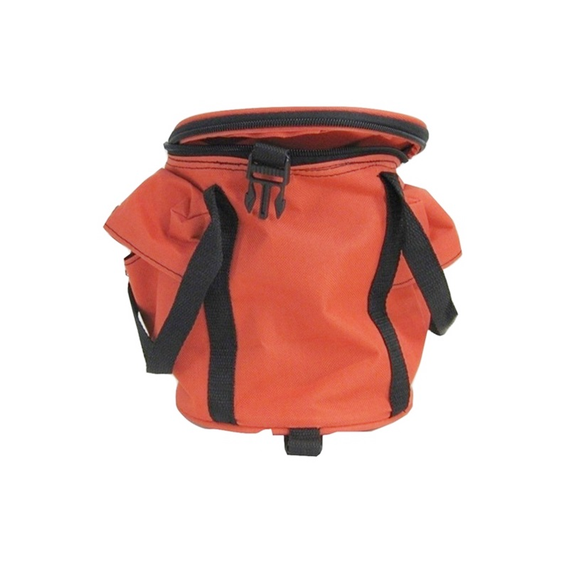Zippered Collapsible Throw Line Bag