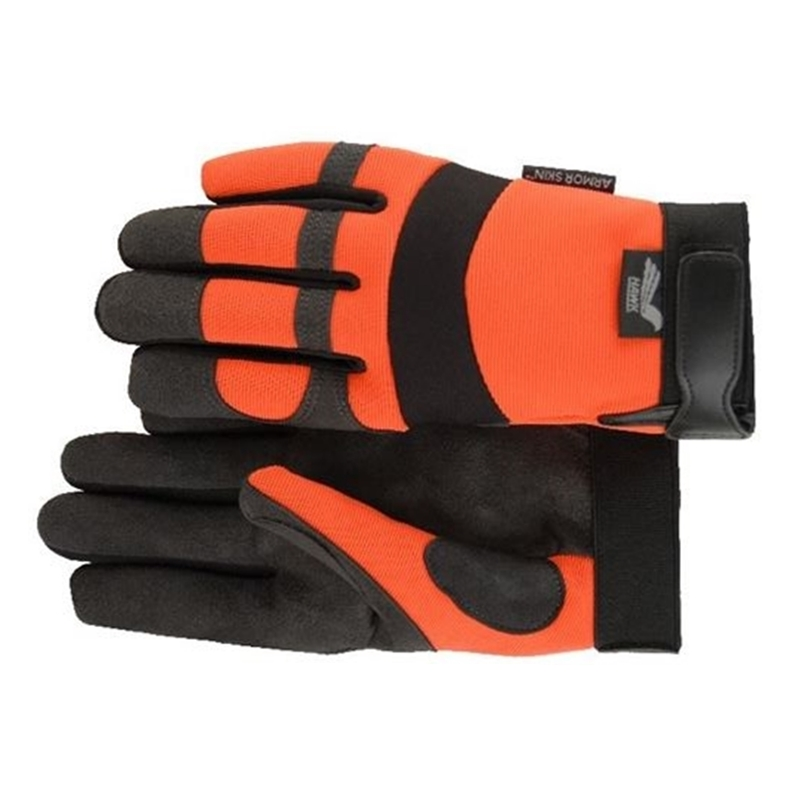 Hawk Armorskin Gloves - Orange