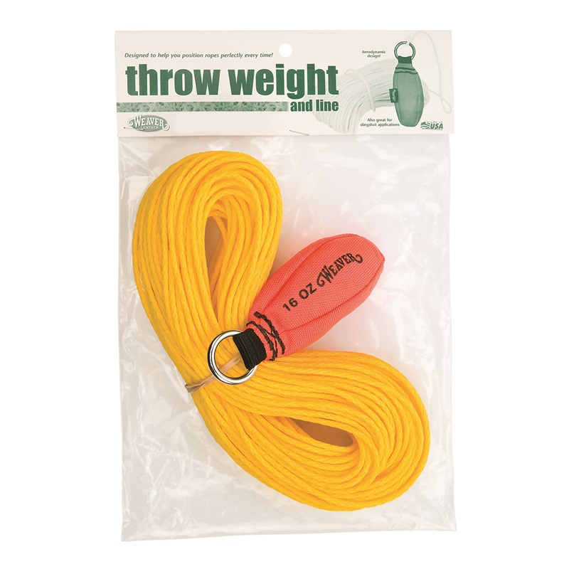 Weaver 16 oz. Throw Weight & Line