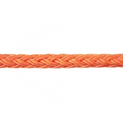 3/8'' Tenex Coated Orange per Foot