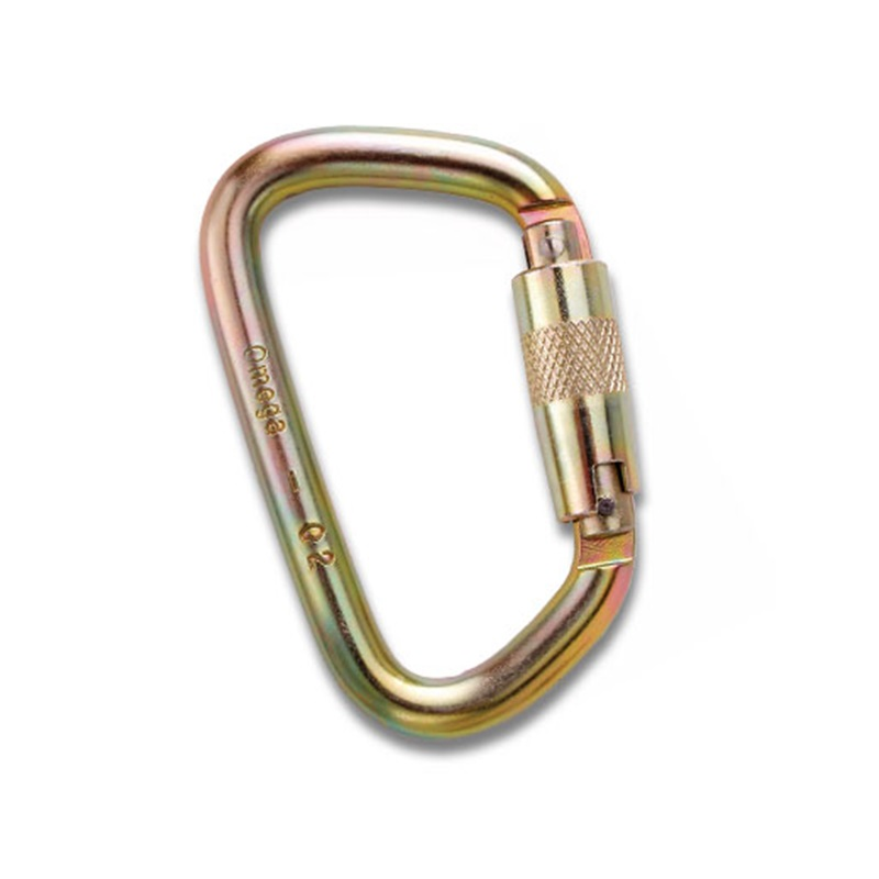 Omega Pacific Steel Twistlock ''D''  Carabiner