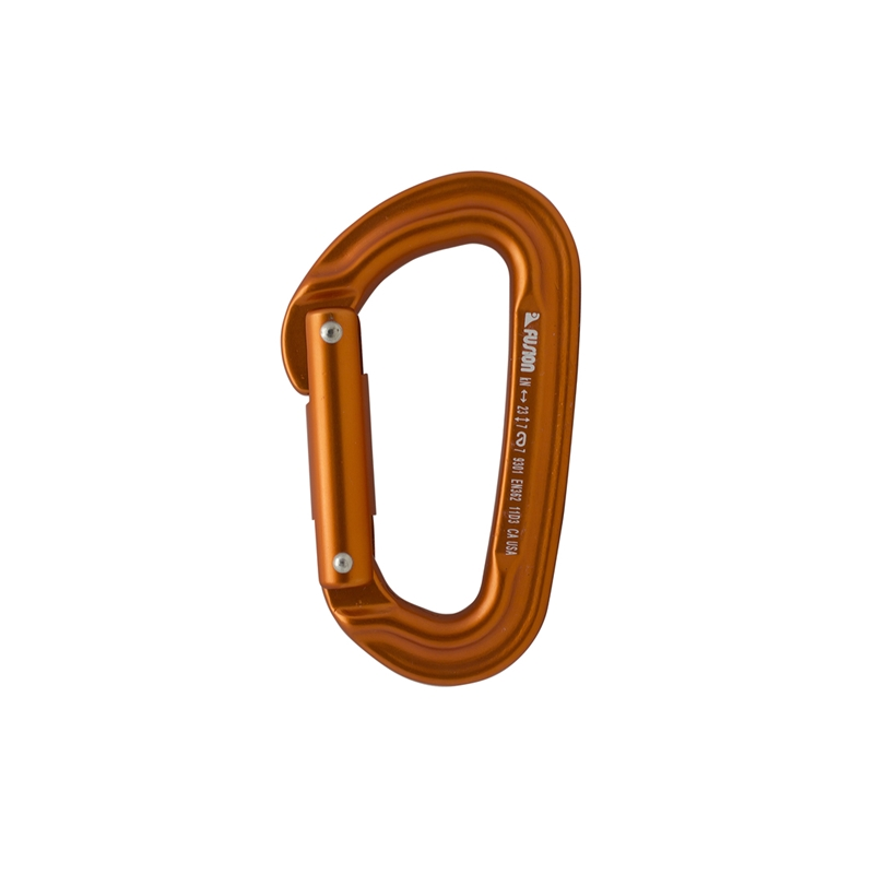 Orange Fusion Contigua Carabiner