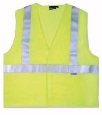 Class II Lime Glo Safety Vest